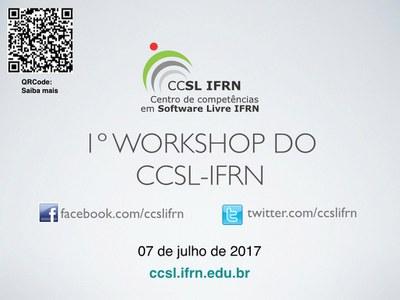 Acontece nesta sexta (7/7/2017) inauguração do novo espaço do CCSL