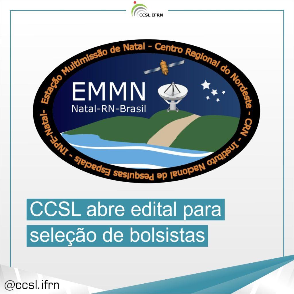 Logo da EMMN - CCSL ABRE EDITAL PARA SELEÇÃO DE BOLSISTAS