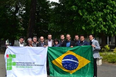 Comitiva do CNAT visita instituição de ensino francesa para renovar parceria