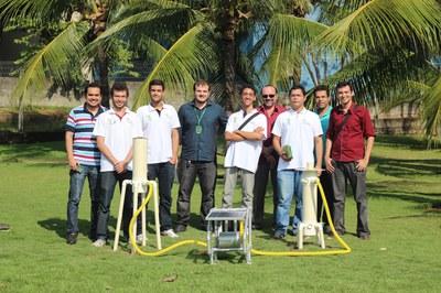 Coordenadores do CCSL-IFRN apresentam a Plataforma Samanaú a pesquisadores do RN