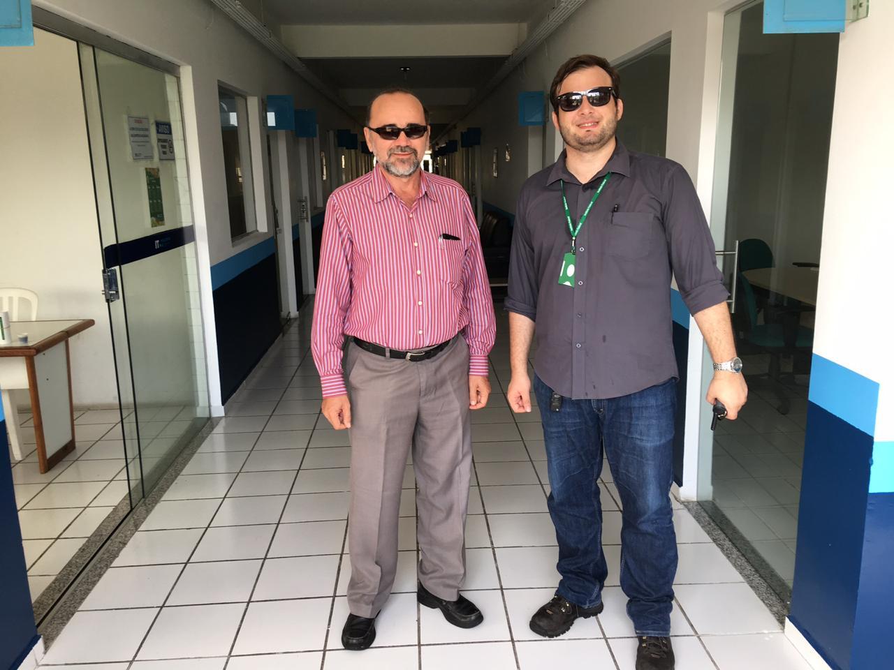 Manoel Carvalho e Moisés Souto