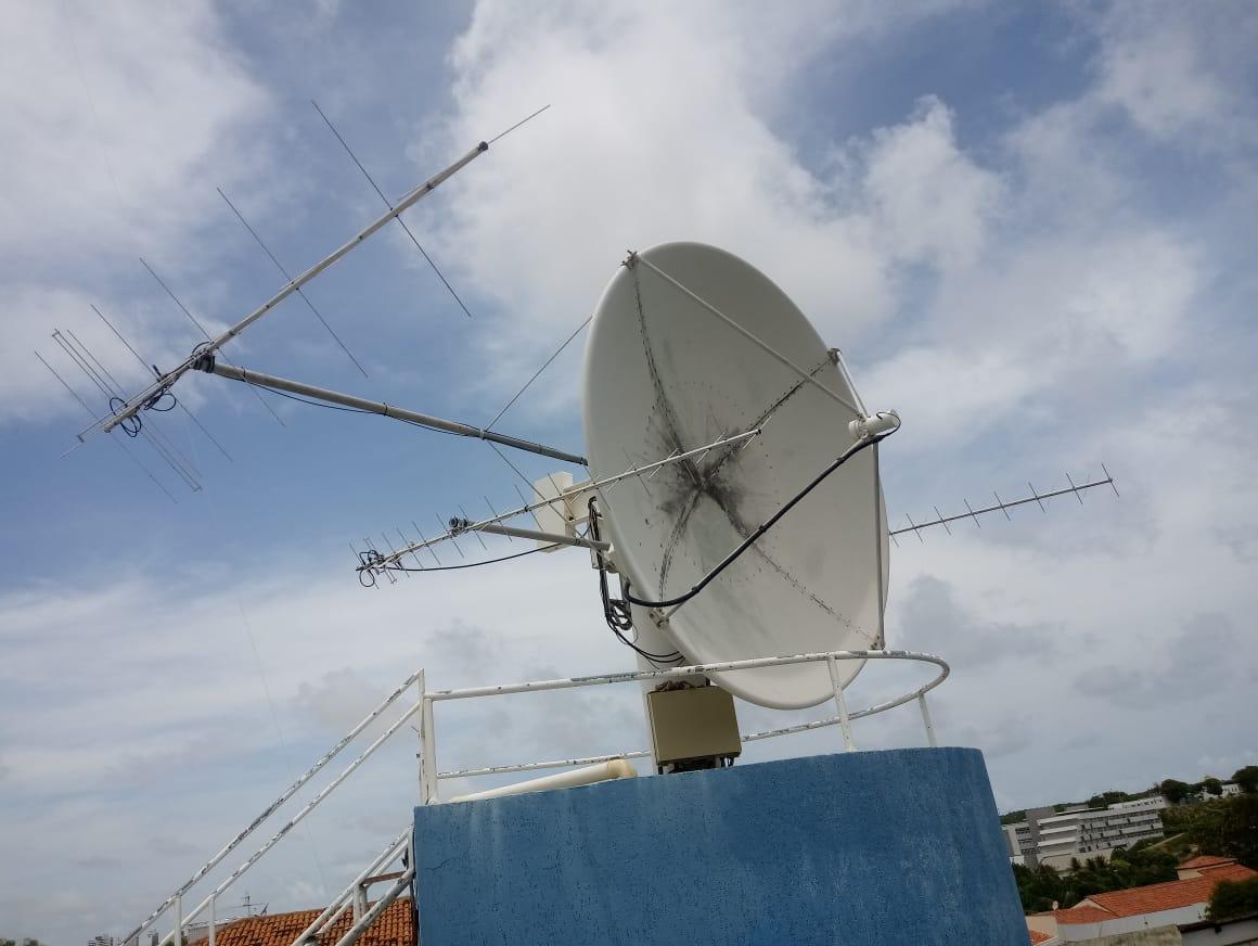 Antena da Estação