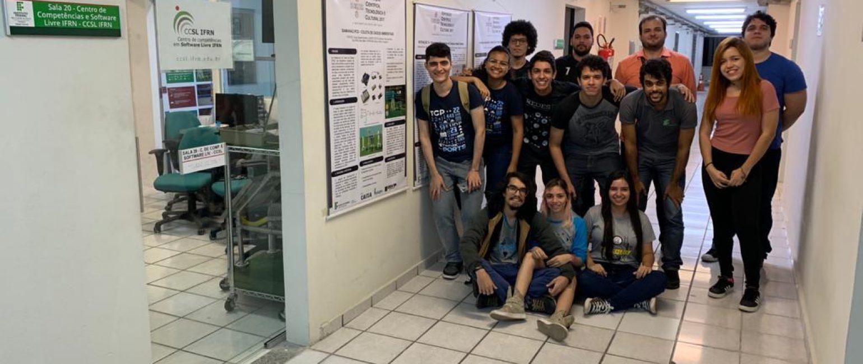 Equipe do CCSL-IFRN em 2020